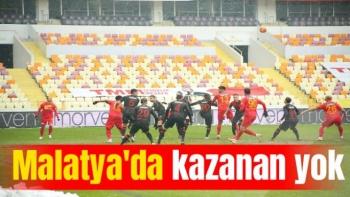 Malatya'da Kazanan Yok