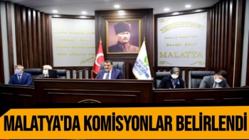 Malatya´da komisyonlar belirlendi