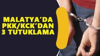 Malatya'da PKK/KCK´dan 3 tutuklama