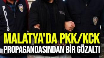 Malatya'da PKK/KCK propagandasından bir gözaltı