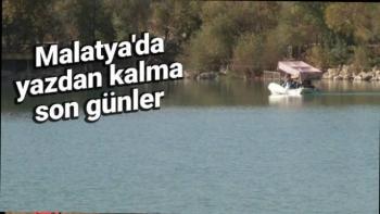 Malatya  Malatya'da yazdan kalma son günler