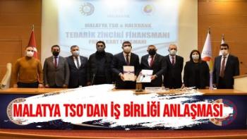 Malatya TSO´dan iş birliği anlaşması