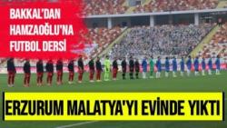 Mesut Bakkal'dan Hamza Hamzaoğluna Futbol Dersi