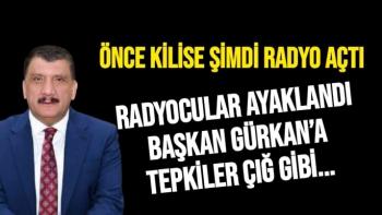 Radyocular ayaklandı Başkan Gürkan'a tepkiler çığ gibi..