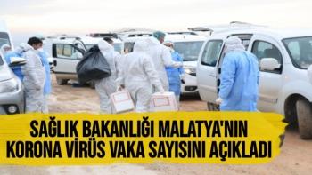 Sağlık Bakanlığı Malatya'nın korona virüs vaka sayısını açıkladı