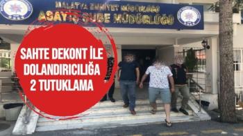 Sahte dekont ile dolandırıcılığa 2 tutuklama