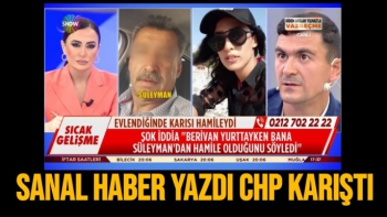 Malatya Sanal haber yazdı CHP karıştı