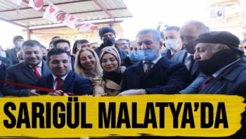 Sarıgül Malatya'da