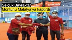 Selçuk Bayraktar montunu Malatya'ya kaptırdı