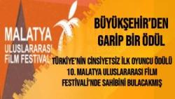 Türkiye'nin Cinsiyetsiz İlk Oyuncu Ödülü 10. Malatya Uluslararası Film Festivali'nde Sahibini Bulacakmış
