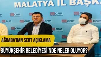 Veli Ağbaba'dan Sert Açıklama Büyükşehirde Neler Oluyor