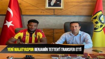 Yeni Malatyaspor, Benjamin Tetteh´i transfer etti