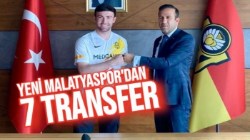 Yeni Malatyaspor'dan 7 Transfer