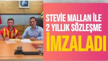 Yeni Malatyaspor, Stevie Mallan ile 2 yıllık sözleşme imzaladı