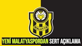Yeni Malatyaspordan Sert Açıklama
