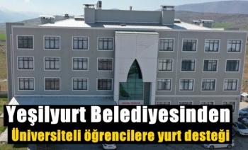 Yeşilyurt Belediyesinden üniversiteli öğrencilere yurt desteği