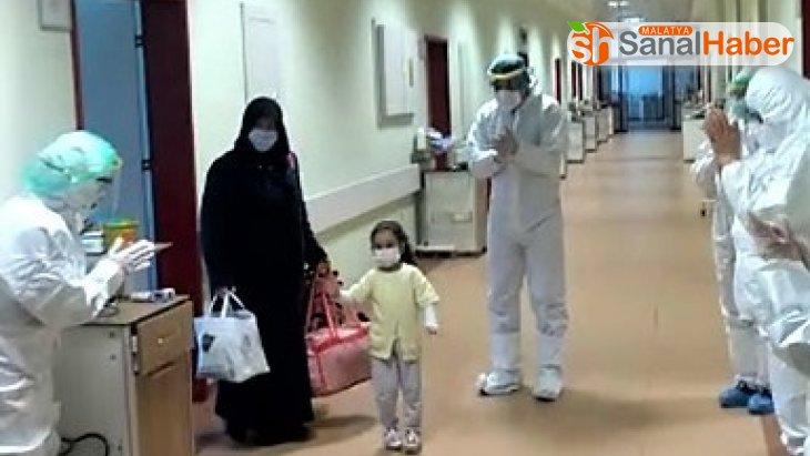 Kahramanmaraş'ta 4 yaşındaki çocuk korona virüsü yendi