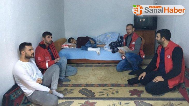 Kahta Sosyal Hizmetler ekibinden depremzedelere psikolojik destek