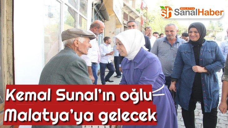 Kemal Sunal'ın oğlu Malatya'ya gelecek