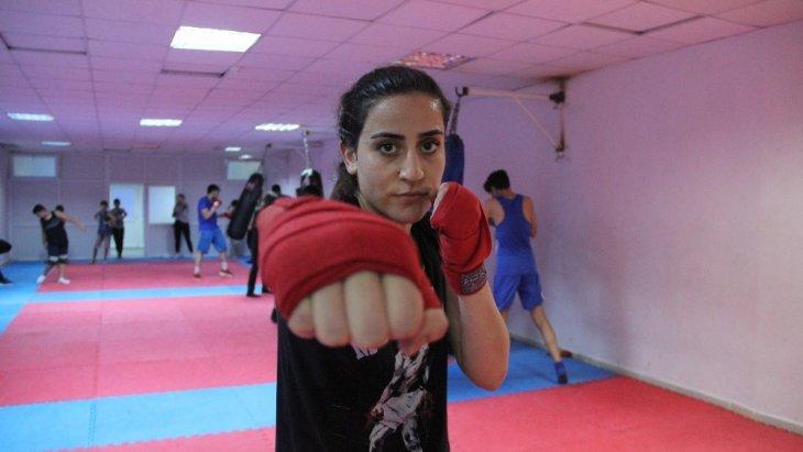 Kick Boksçu Gizem'in yeni hedefi, Avrupa şampiyonluğu