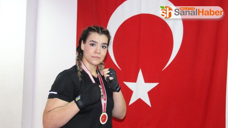 Kick boksçu Mihriban, ikinci kez Avrupa Şampiyonu olmak istiyor