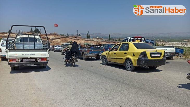 Korona nedeniyle İdlib ve Zeytin Dalı bölgesi arasındaki yollar kapatıldı