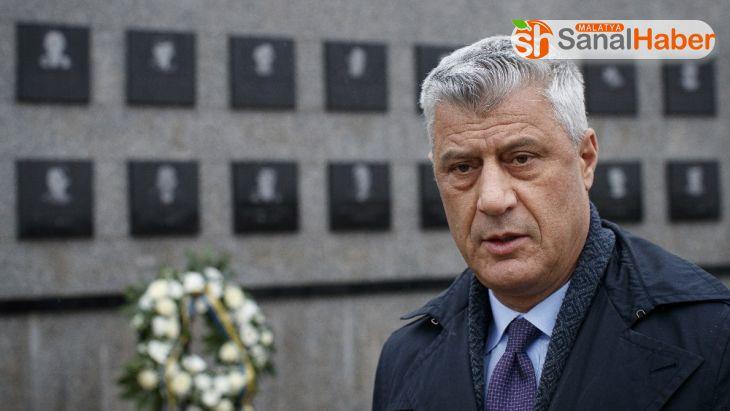Kosova Cumhurbaşkanı Thaçi, hakkında hazırlanan iddianame nedeniyle Washington ziyaretini iptal etti