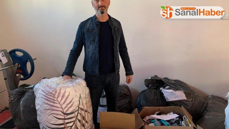 Kulüplerin gönderdiği yardım malzemeleri dağıtılmaya başlandı
