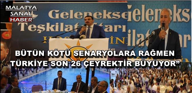 """BÜTÜN KÖTÜ SENARYOLARA RAĞMEN TÜRKİYE SON 26 ÇEYREKTİR BÜYÜYOR"""""""