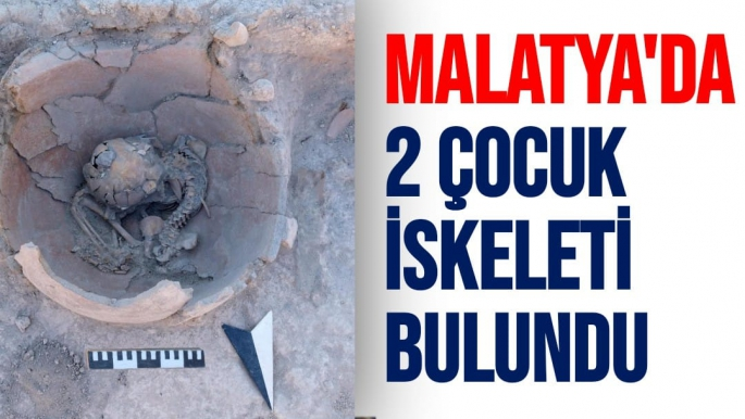 Malatya'da  2 çocuk iskeleti bulundu
