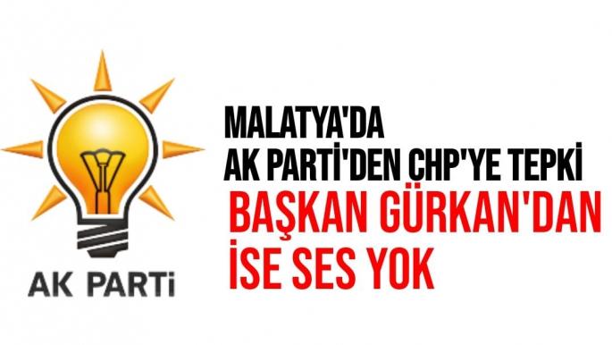 Malatya'da Ak Parti'den CHP'ye tepki