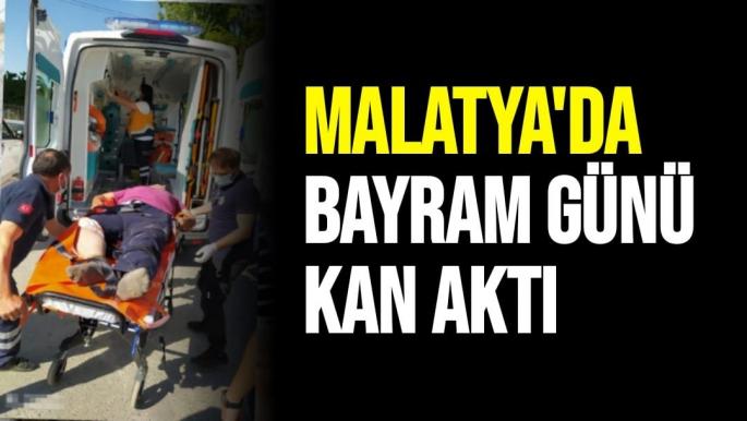 Malatya'da Bayram günü kan aktı