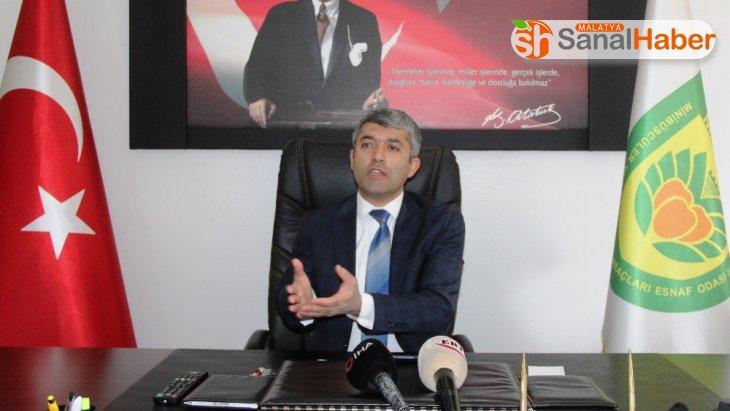 Malatya'da esnaf kamu bankalarına olan borçların ertelenmesini istiyor