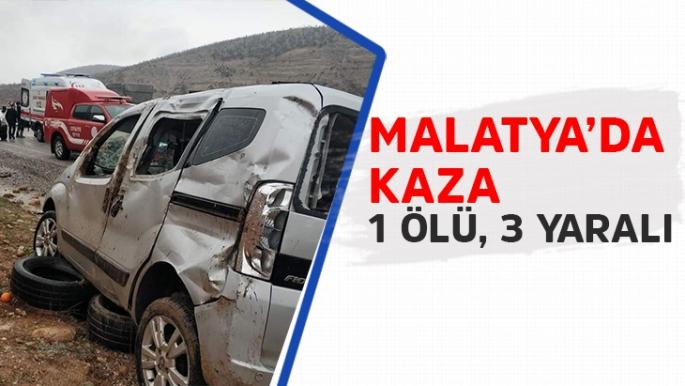 Malatya'da kaza
