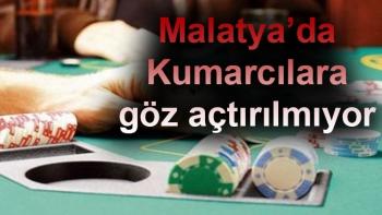 Malatya'da kumarcılara göz açtırılmıyor