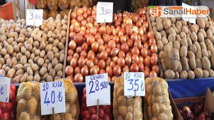 Malatya'da patates ve soğan fiyatları yükseldi