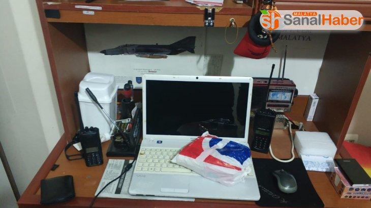 Malatya'da polis kanalları dinlenilen telsizler ele geçirildi: 1 gözaltı