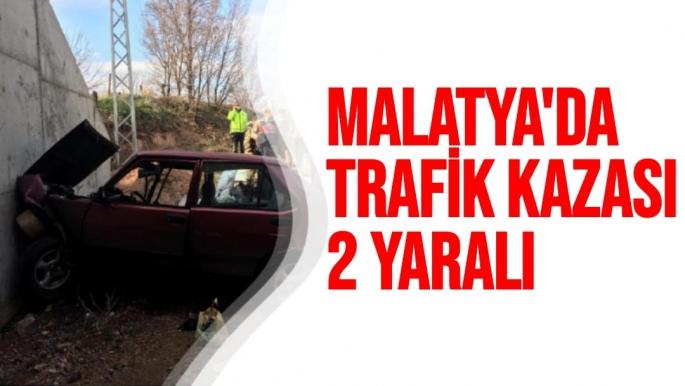 Malatya´da trafik kazası: 2 yaralı