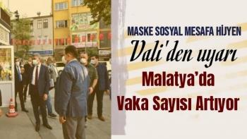Malatya'da Vaka Sayısı Artıyor
