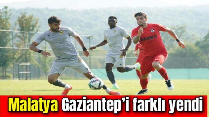 Malatya Gaziantep'i farklı yendi