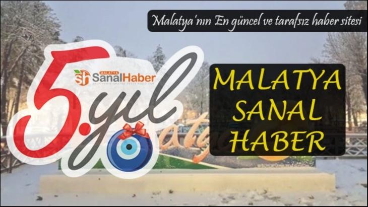 Malatya Sanal Haber 5 yaşında