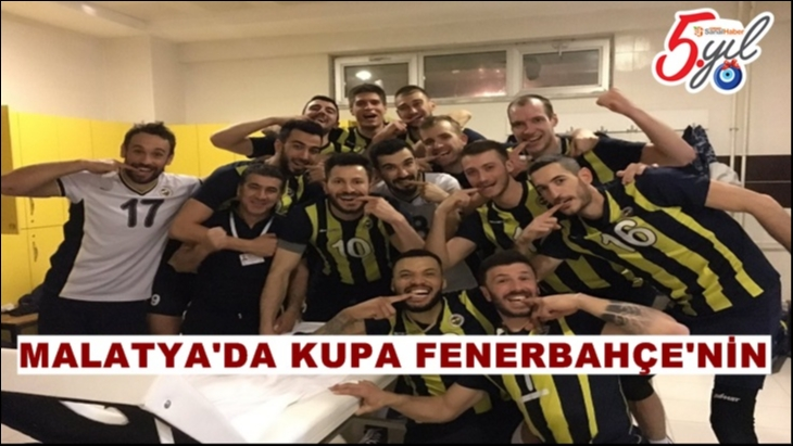 AXA Sigorta Erkekler Kupa Voley: Fenerbahçe: 3 - Galatasaray: 2