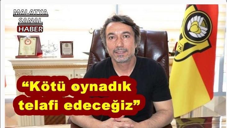 Evkur Yeni Malatyaspor'da Konyaspor yenilgisi moralleri bozdu