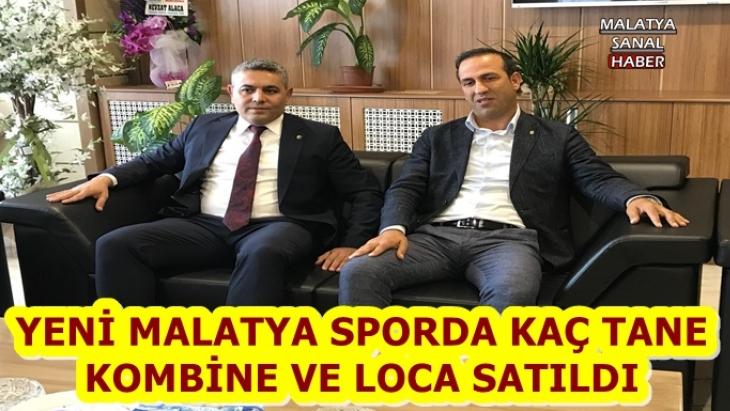 Yeni Malatyaspor Başkanı Adil Gevrek Satılan Kombine sayısını Açıkladı