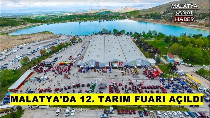 Malatya'da 12. Tarım Fuarı açıldı