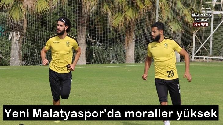 Yeni Malatyaspor'da moraller yüksek