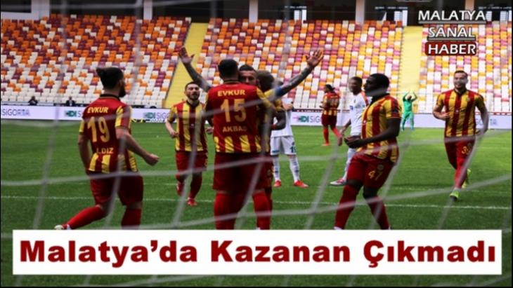 Malatya'da Kazanan Çıkmadı