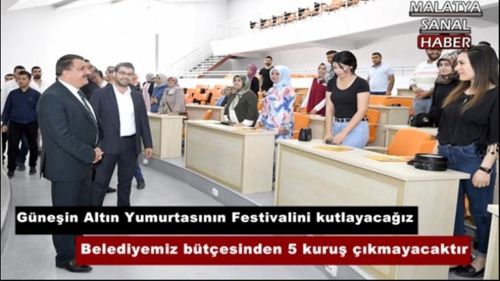 Başkan Gürkan, Belediyemiz bütçesinden 5 kuruş çıkmayacaktır