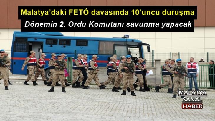 Malatya'daki FETÖ davasında 10'uncu duruşma