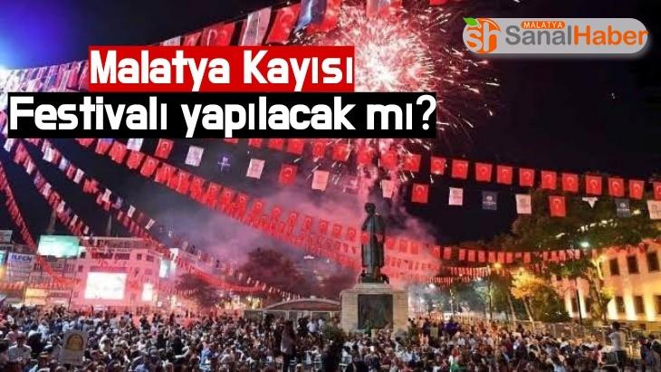 Malatya Kayısı Festivalı yapılacak mı?